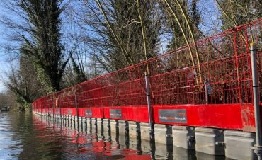 Pontoons for Pedestrian Diversions