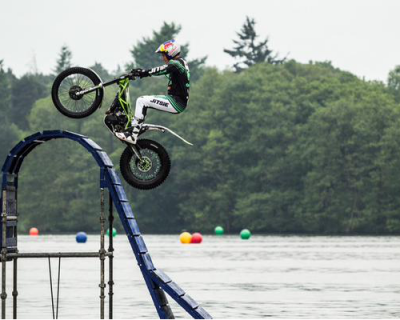 A Motorbike, 12 x World Champion and Our Pontoons