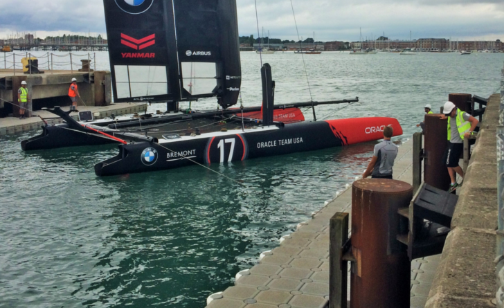 America's Cup Comes to Town