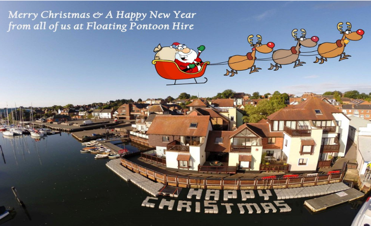 Merry Christmas from Floating Pontoon Hire