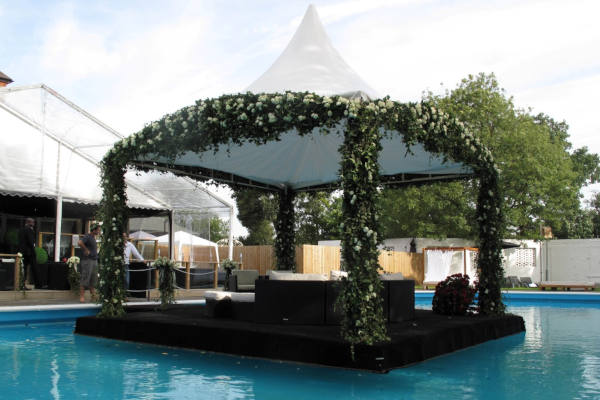 Pontoons for weddings