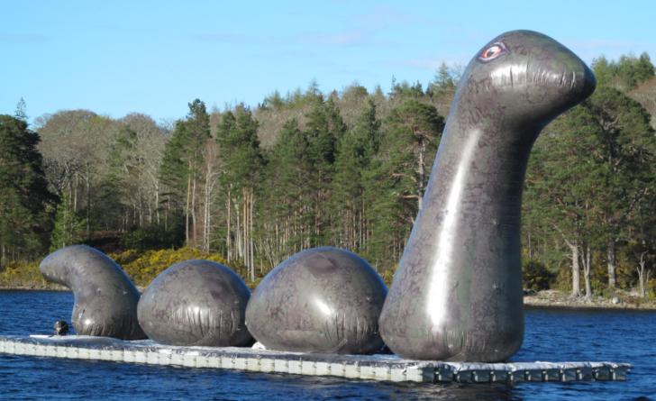 Pontoon Raft for Nessie